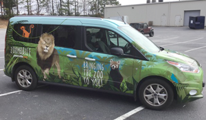 the zoomobile mobile outreach vehicle