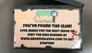 secret safari clue