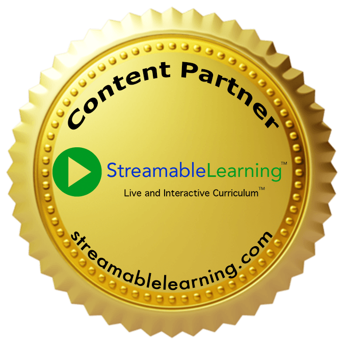 Streamable Learning Content Partner Badge
