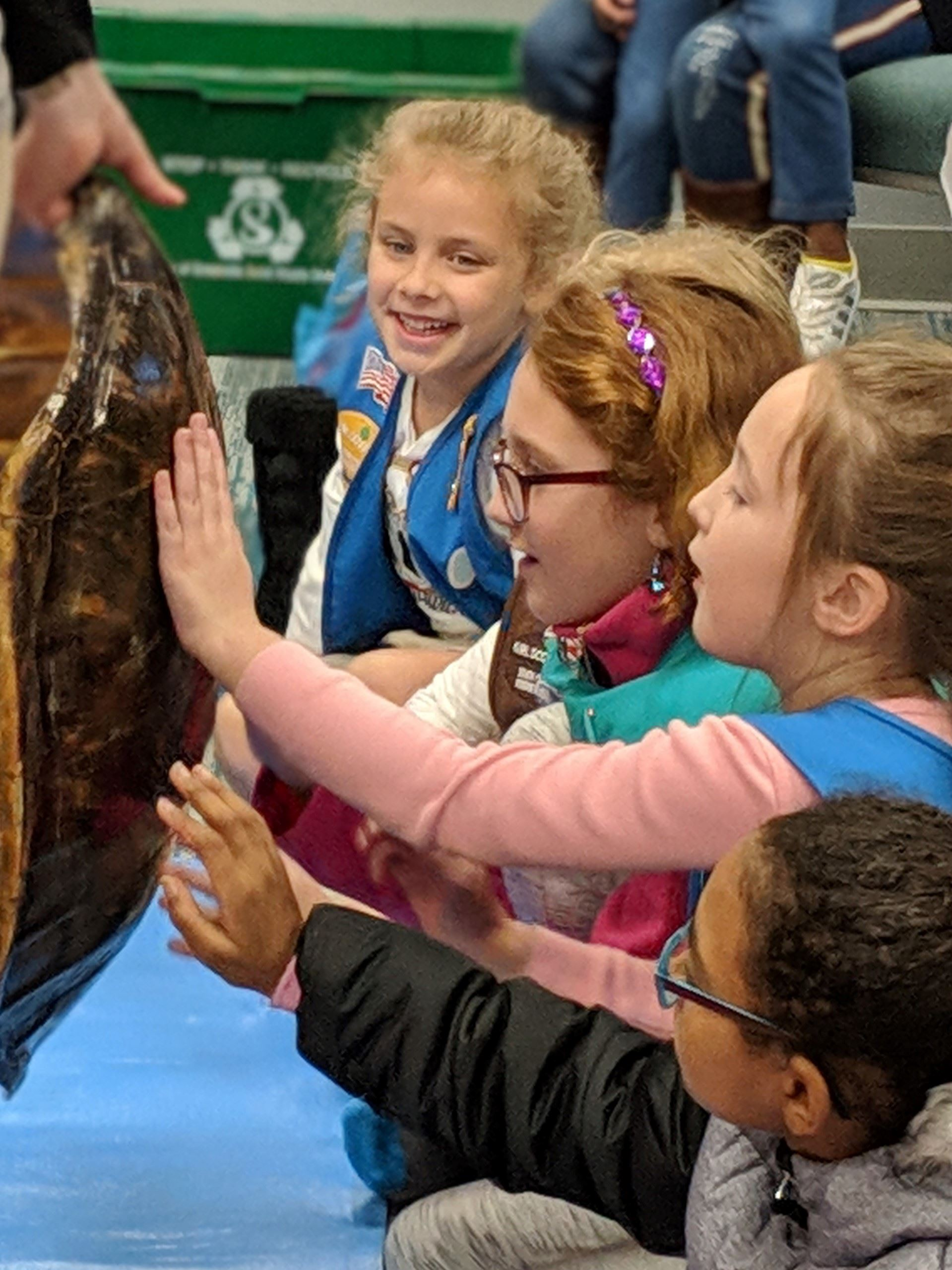 Girl Scout Program day at the Zoo